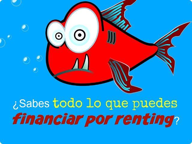 """financiar por renting"""
