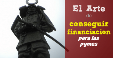 """arte de conseguir financiación"""