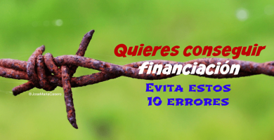 """conseguir financiación"""