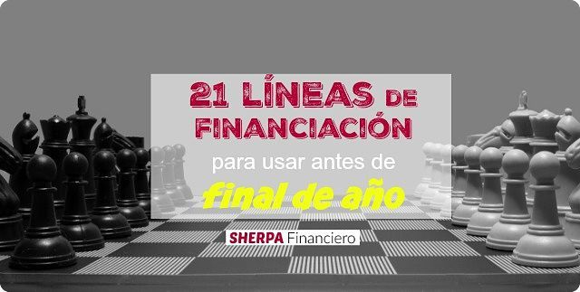 """lineas de financiacion"""