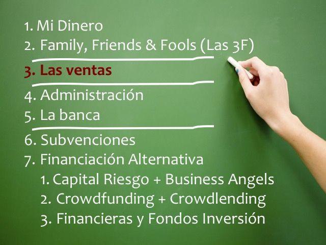 Fuentes de financiamiento para empresas, dinero, 3F, bancos, subvenciones, financiación alternativa, capital riesgo, business angels, crowdfunding, crowdlending, crowdequity