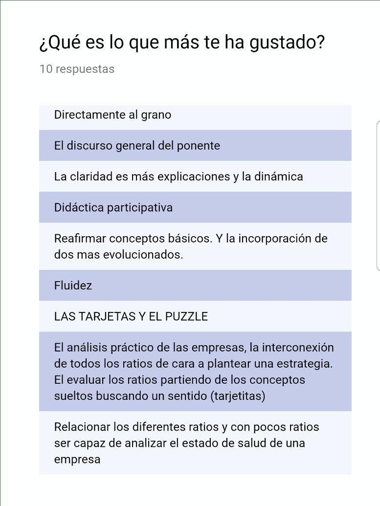 Opiniones del Curso Ratio impartido por José María Casero